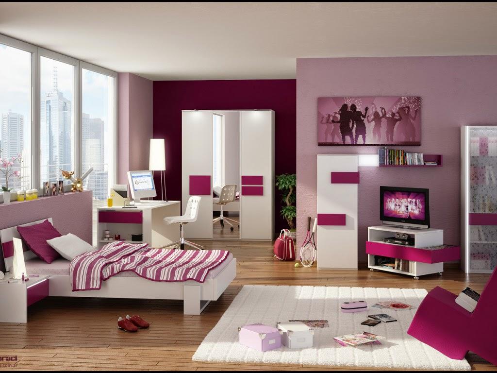Gambar desain kamar tidur anak perempuan terbaru