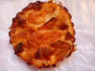 Tortilla de merluza, jamón york y tomate