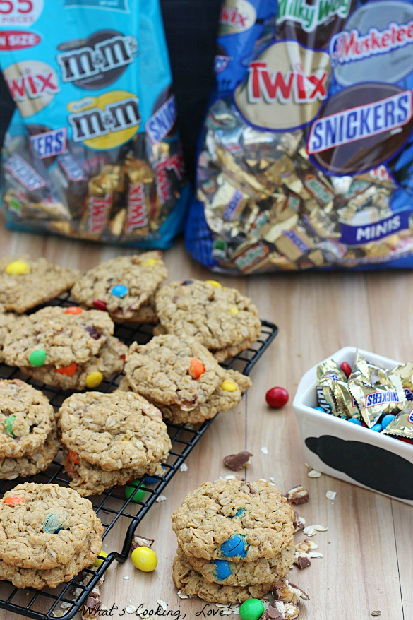 Snickers Monster Cookies #Spooky Celebration #shop