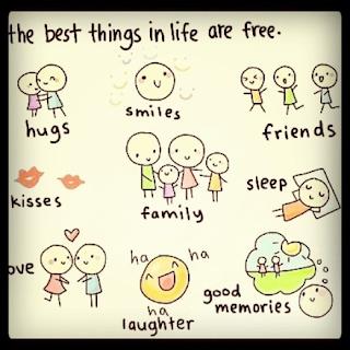las mejores cosas en la vida son gratuitas