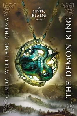 The cover of The Demon King (Seven Realms #1) by Cinda Williams Chima