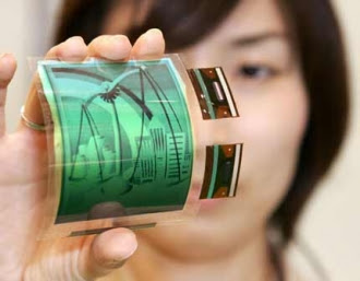 Future LG phone with flexible display
