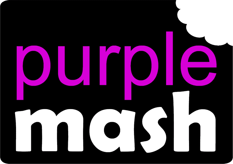 Click here to log on to Purple Mash