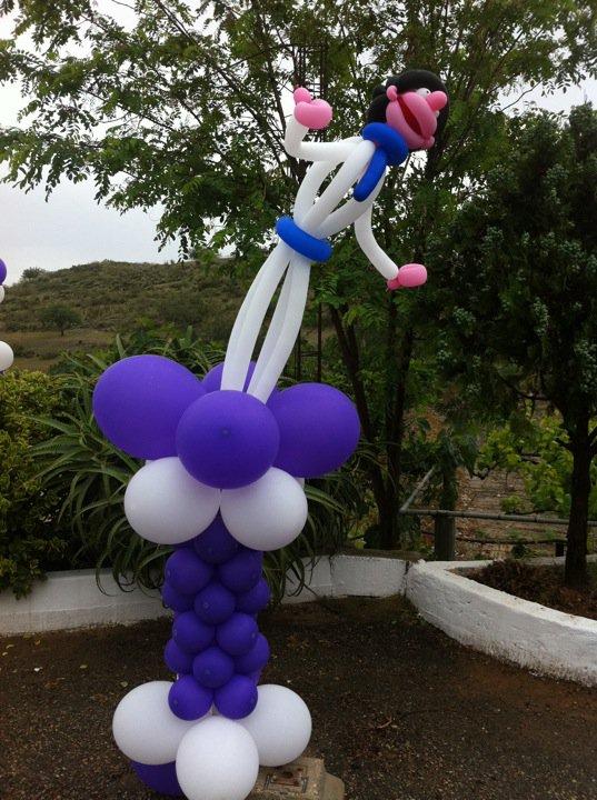 El mundo de ende decoracion globos comunion for El mundo decoracion
