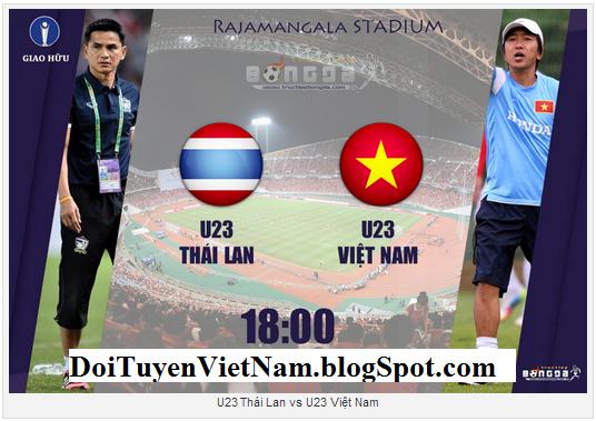Link xem trực tiếp U23 Thái Lan- U23 Việt Nam: Xem Miura so tài Kiatisak