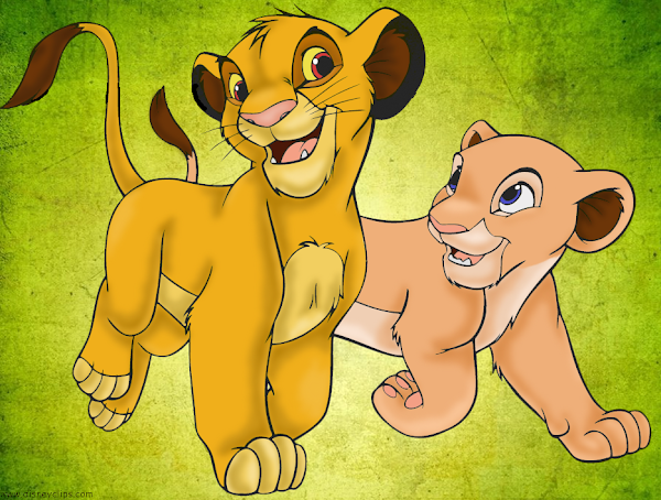 Lion King Simba And Nala Coloring Pages