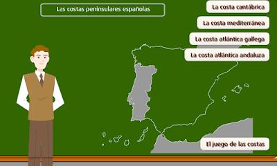 http://www.primaria.librosvivos.net/archivosCMS/3/3/16/usuarios/103294/9/6EP_Cono_cas_ud9_Las_costas_espaniolas/frame_prim.swf