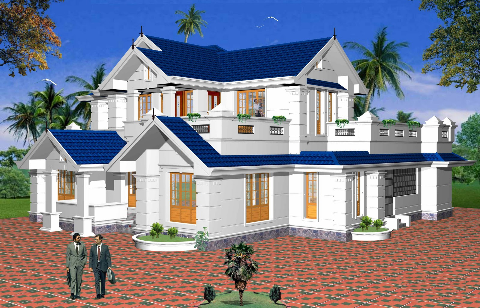 New home designs latest beautiful latest modern home for Latest architectural house designs