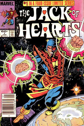15 Superhero Terburuk di Dunia Komik: Jack of Hearts