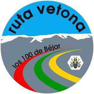 Logo de la Ruta Vetona 2013, los 100 de Bejar