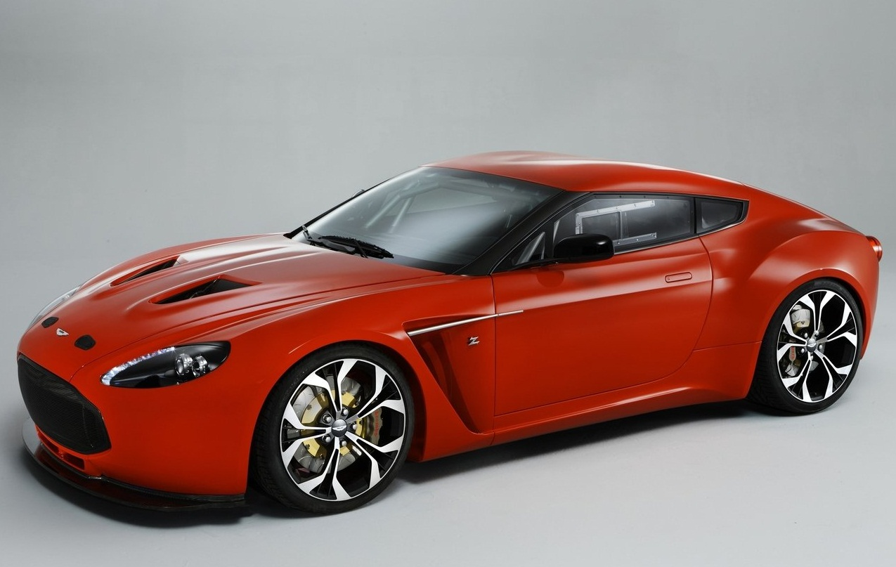 aston martin unveils the stunning new aston martin v12 zagato ...