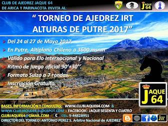 TORNEO IRT ALTURAS DE PUTRE 2017