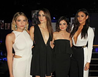 Ashley Benson, Troian Bellisario, Lucy Hale and Shay Mitchell Cast of PLL