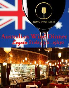 Australian Wine Seminar with a Gourmet Dinner, Tokyo