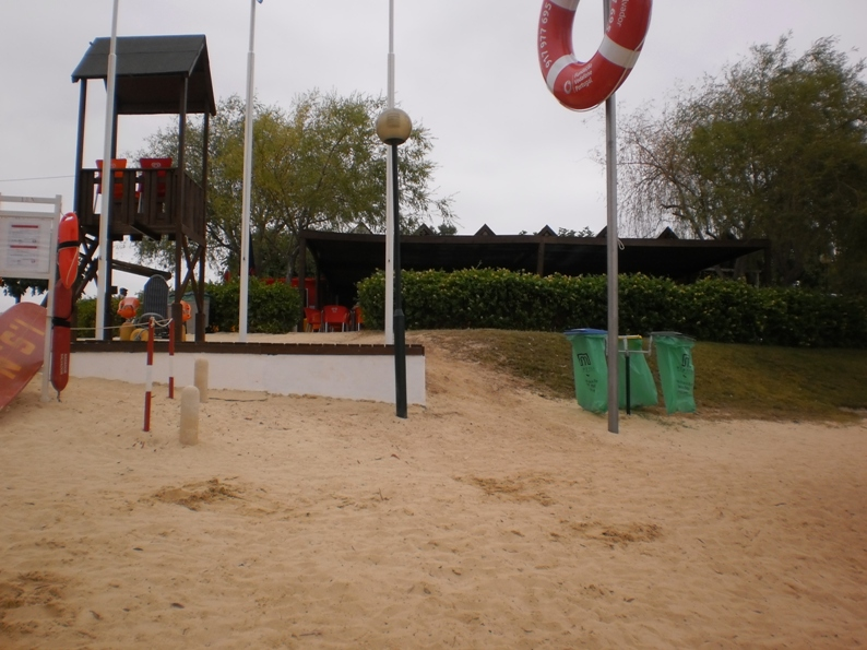 Zona do Nadador Salvador da Praia Fluvial