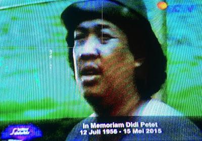 Aktor Kondang Didi Petet Meninggal Dunia, 15 Mei 2015
