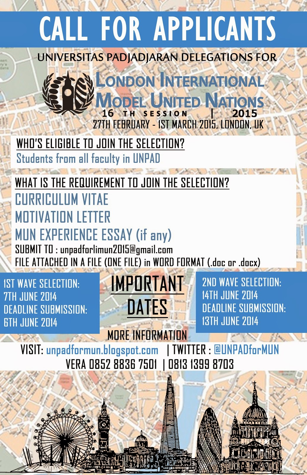 universitas padjadjaran for model united nations london limun is an academic simulation of the united nations that aims to educate participants about current topics in international relations diplomacy and the