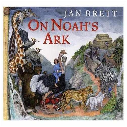 Book Cover Series January : Best loved child noah s ark books for children