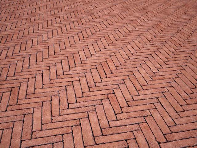 Simo texture seamless di mattoni autobloccanti - Mattoni per esterno ...