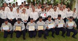 Entrega IPAX reconocimientos a policías destacados
