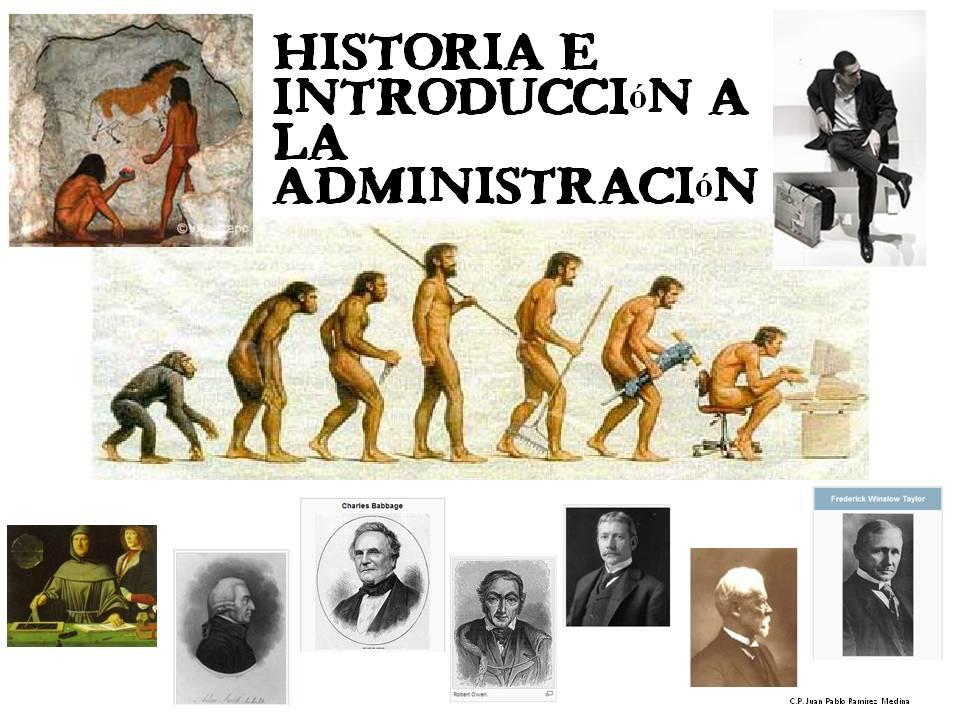 historia de la administracion antigua: