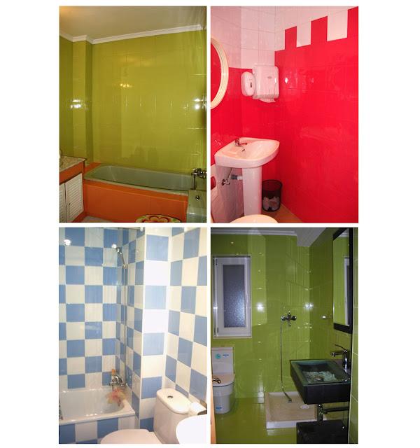 Muebles de ba o royo - Pintura azulejos bruguer ...