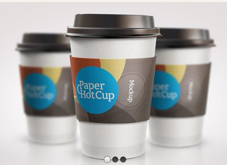 Download Coffee Mug Mockup PSD Terbaru Gratis - Paper HotCup Template Mockup