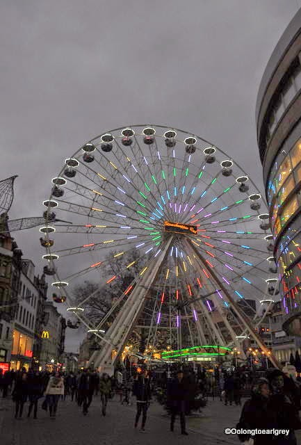 Ferris Wheel, Wiesbaden Christmas Market 2014
