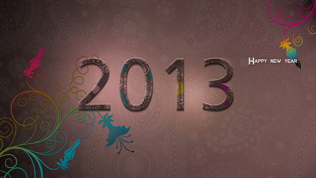 Free Download Happy New Year 2013 HD Wallpapers for iPhone 5