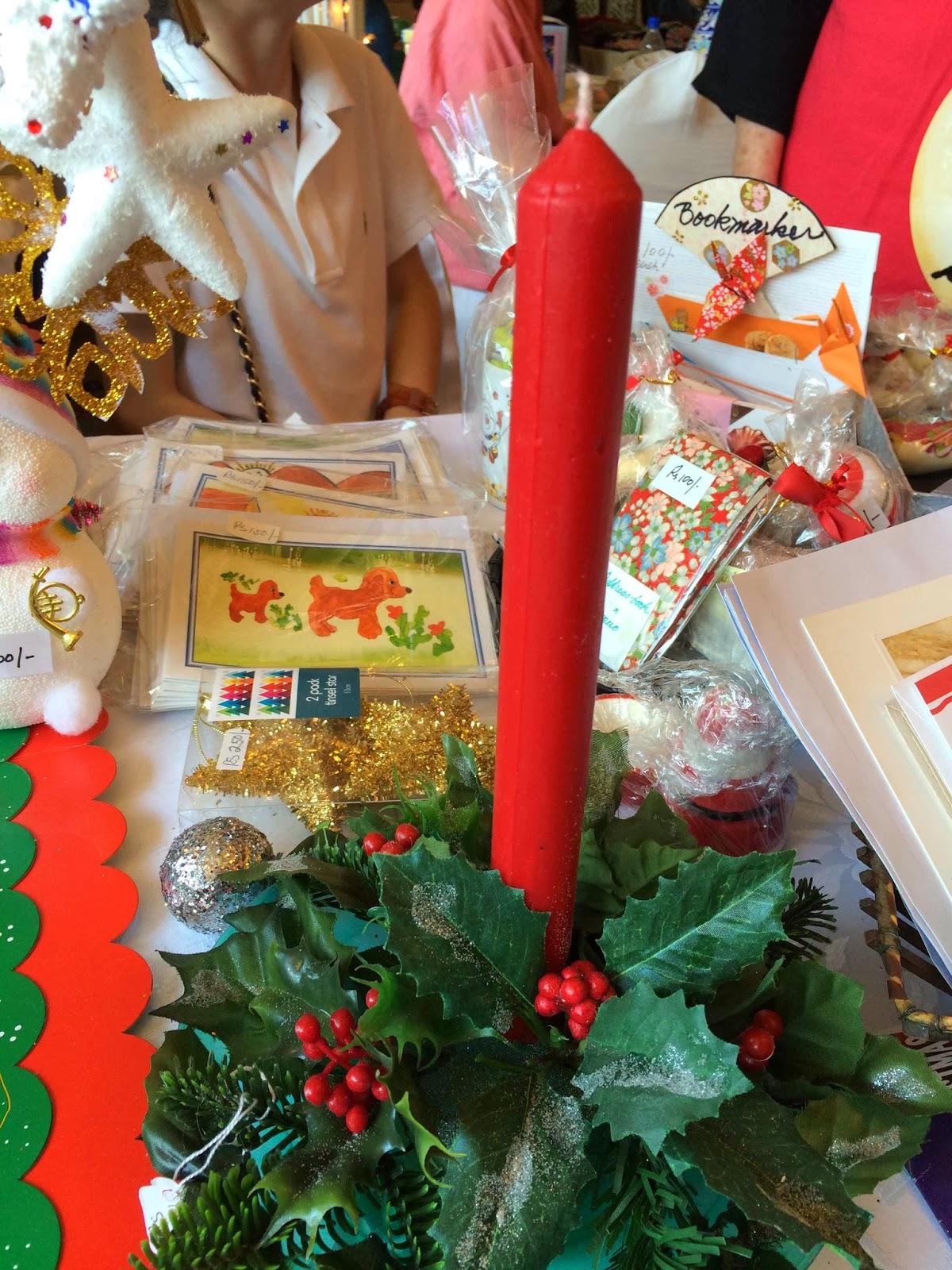 Christmas Decoration At British Womens Association Fair Karachi