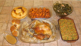Happy Thanksgiving Dinner 2011