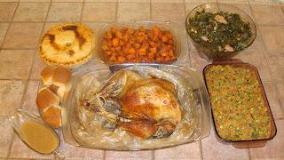 Happy Thanksgiving Dinner 2011