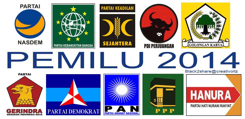 Parpol Peserta Pemilu 2014