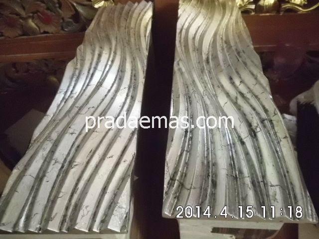 cara buat motif silver leaf