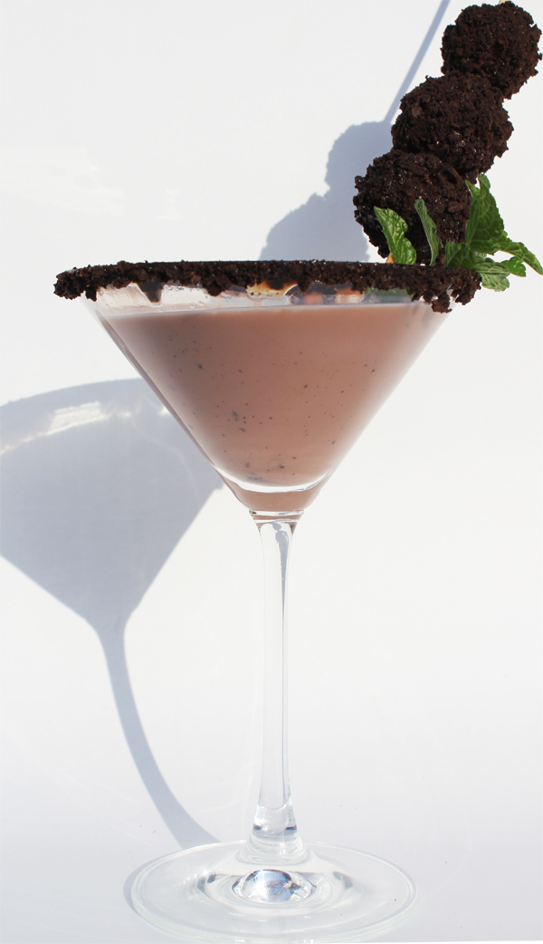 Fashionably Bombed: Thin Mint-tini Cocktail and Mocktail
