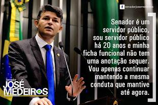 Senador pelo Mato Grosso José Medeiros (PPS-MT)