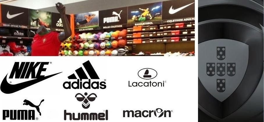 As marcas estrangeiras de equipamento desportivo fornecem 75% das equipas  da Liga Zon Sagres (divisão principal) do futebol português na corrente  temporada ... 2dfce28cbf291