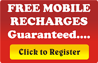 Earn free mobile recharge