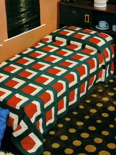 Şemalı Anlatımlı Battaniye Modeli