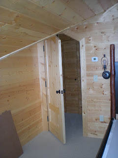 Specail doorway needed for low dormer ceiling by http://huismanconcepts.com/custom-carved-doors/