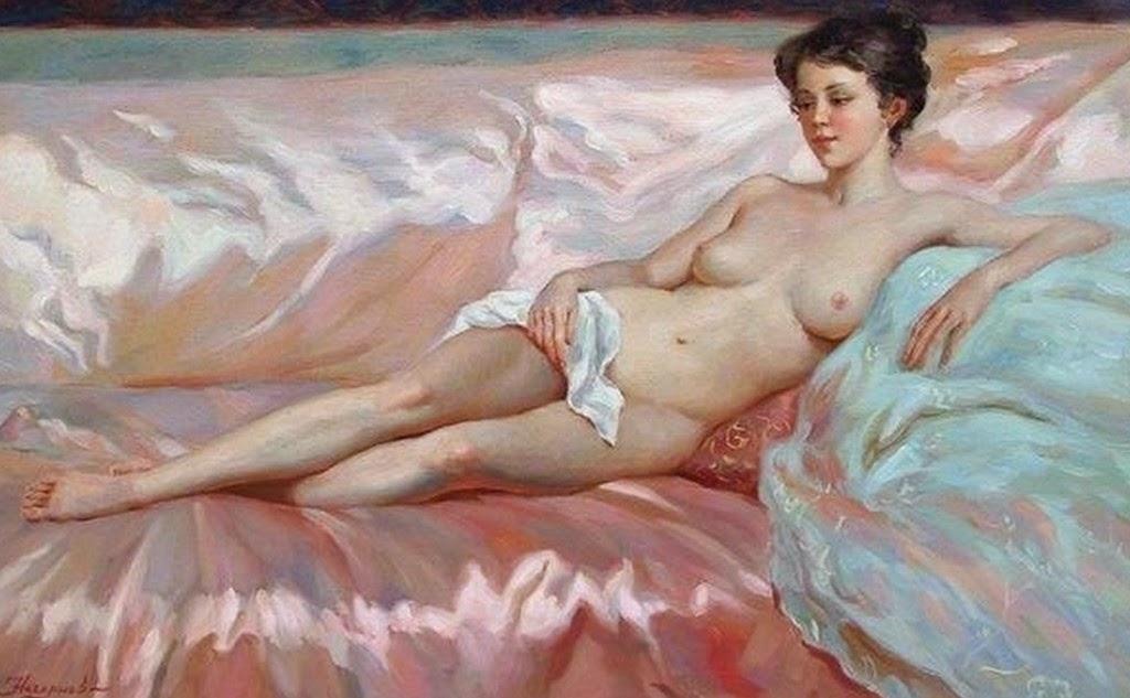 retratos-desnudos-femeninos-cuadros-al-oleo