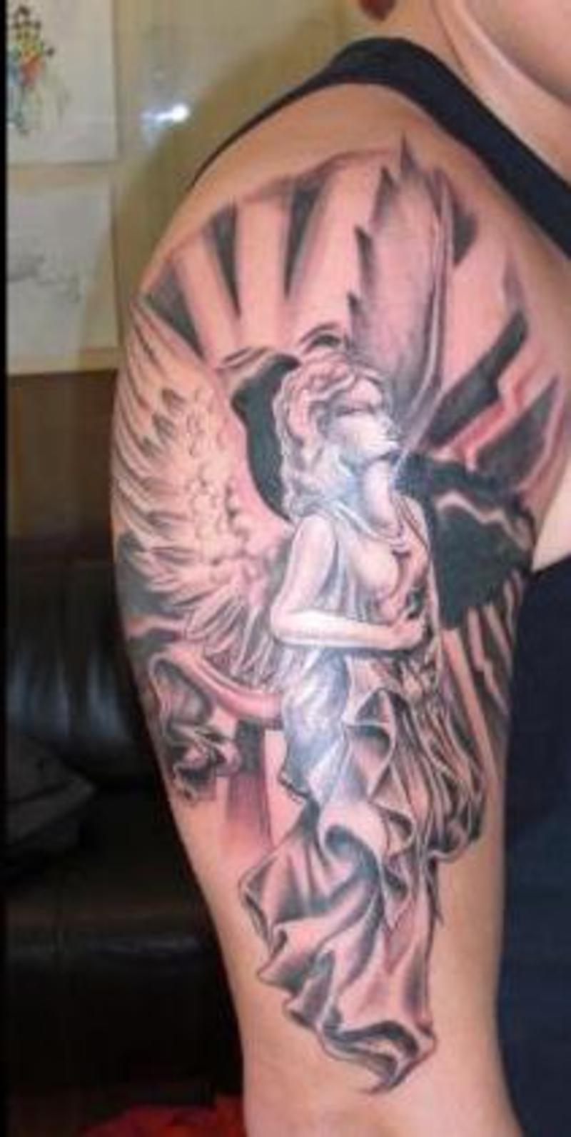 TATTOOS Angel Tattoos