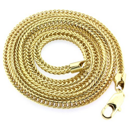 rope gold zoom fresh necklace chain chains iceyfresh