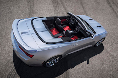 Chevrolet Camaro SS Convertible (2016) Rear Side
