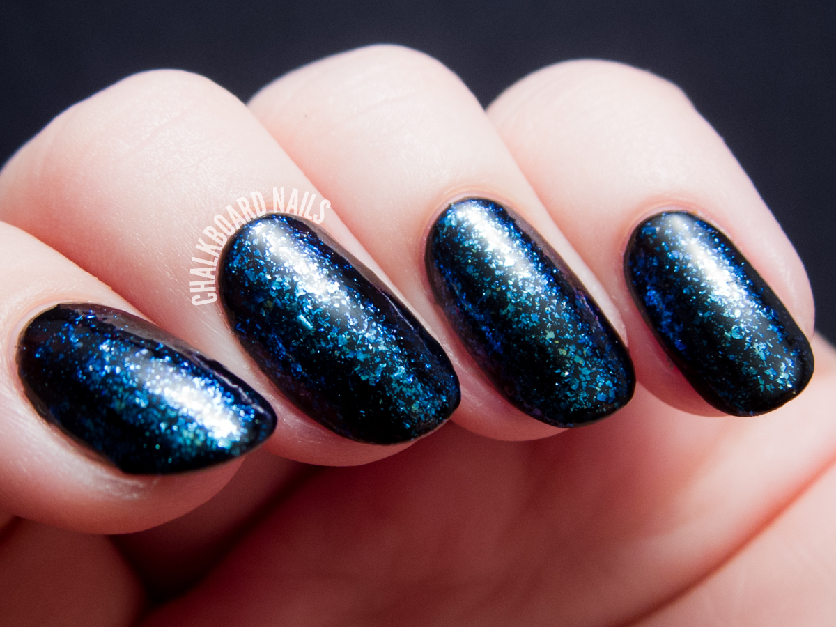 I Love Nail Polish - Cold Fusion via @chalkboardnails