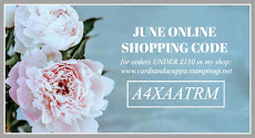 Hostess Code for your June Stampin' Up! Shopping is; A4XAATRM