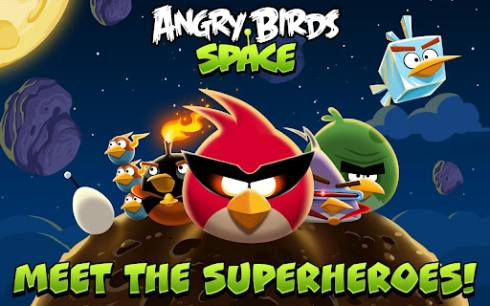 Angry Birds Space Android e Apple