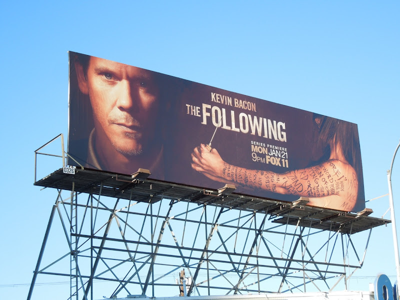 The Following season 1 billboard