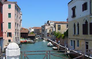 Benátky uličky vodné kanály