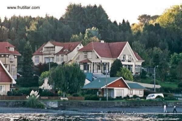 Casas céntricas de Frutillar, Chile